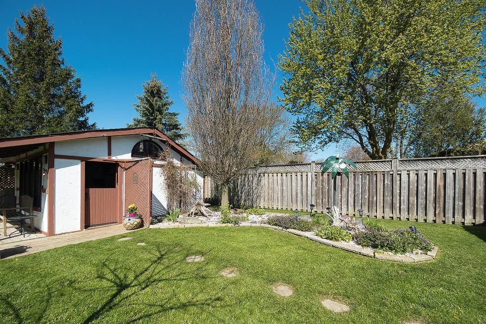 Backyard - 294 Maurice For Sale