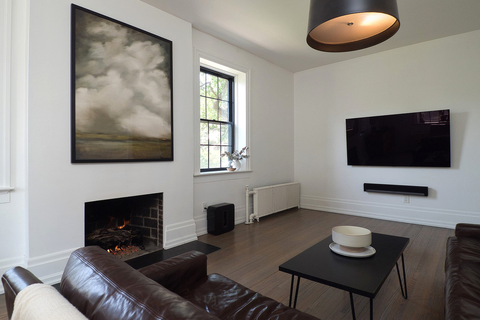 Living Room 2 - 132 Queen St N - For Sale