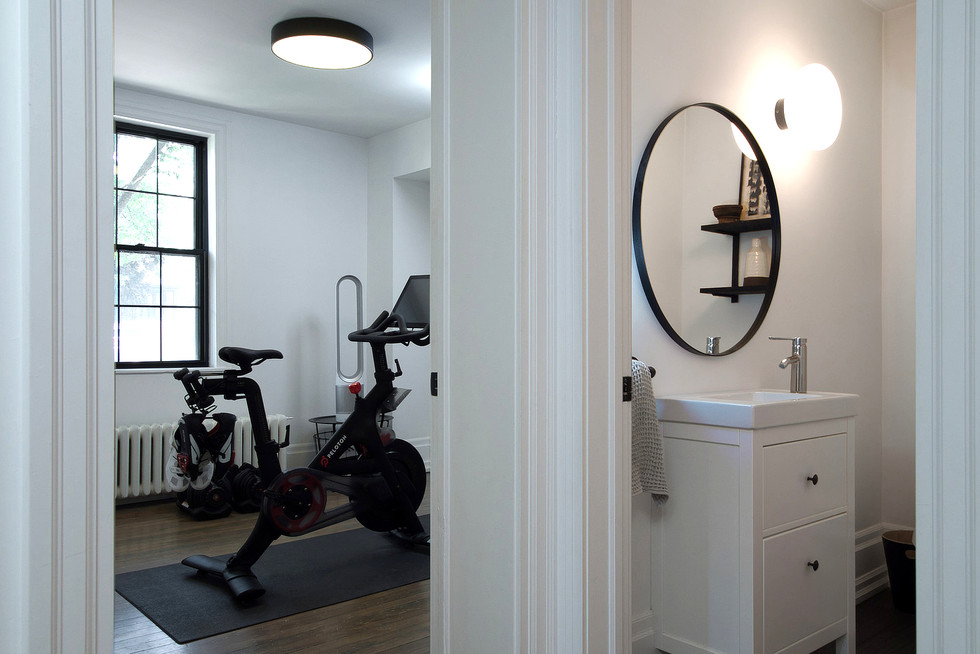 Exercise Room and Bathroom - 132 Queen St N - For Sale