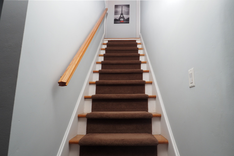 59 Belleview For Sale - Stairs to Upstairs