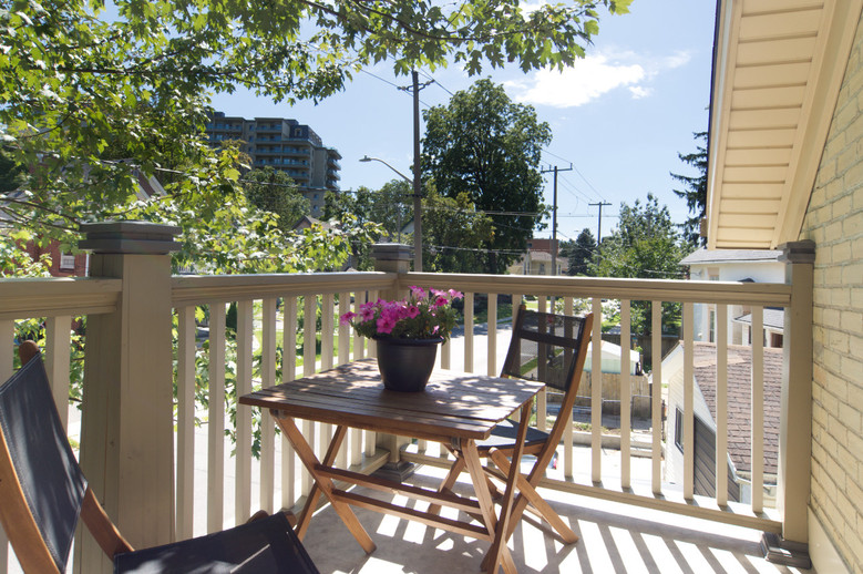 Front Balcony 2 - 134 David - For Sale
