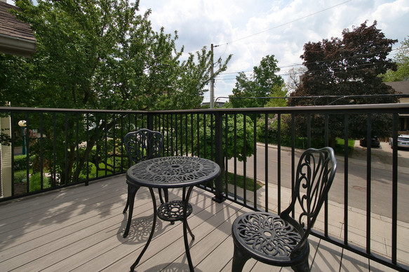 Back Deck 2 - 132 Queen St N - For Sale