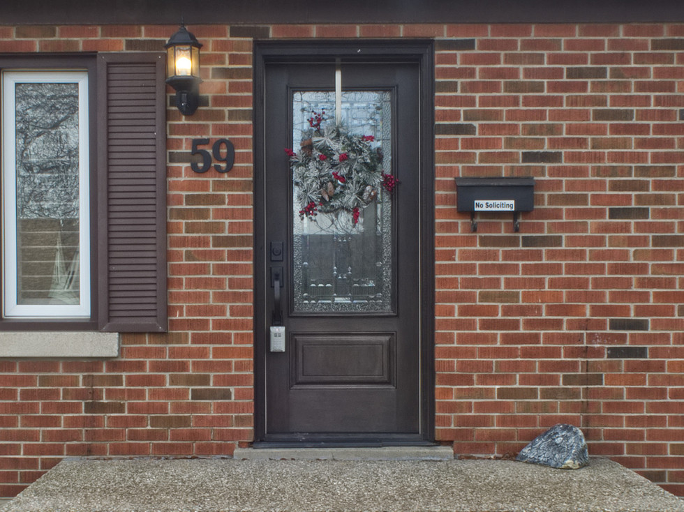 59 Belleview For Sale - Front Door