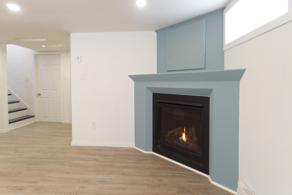 391 Victoria Street South For Sale - Basement Fireplace
