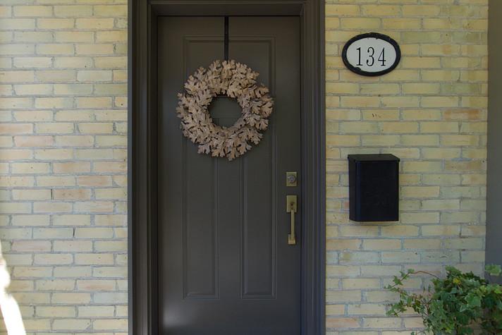 Front Door 2 - 134 David - For Sale