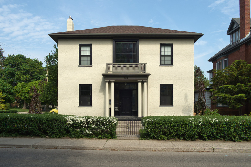 Front Exterior - 132 Queen St N - For Sale