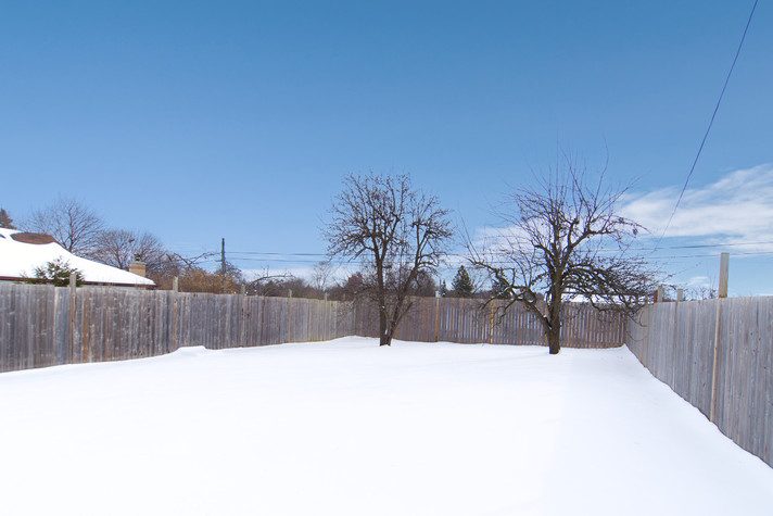 391 Victoria Street South For Sale - Backyard