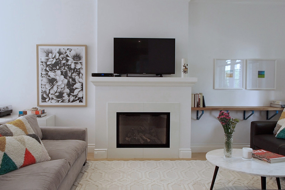 Fireplace - 11 Park Street - For Sale
