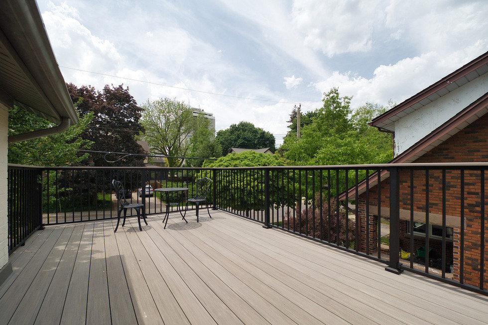 Back Deck - 132 Queen St N - For Sale