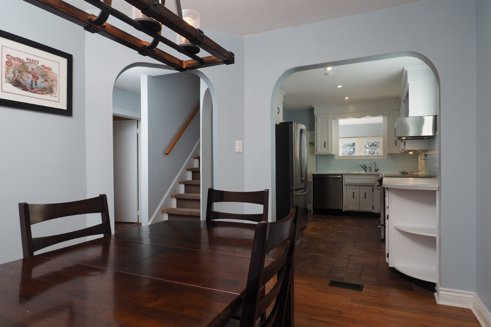 59 Belleview For Sale - Dining Room & Kitchen