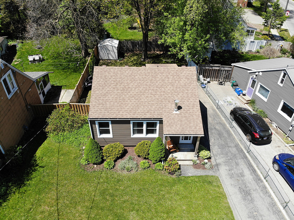 From Above - 9 Windsor Crescent For Sale