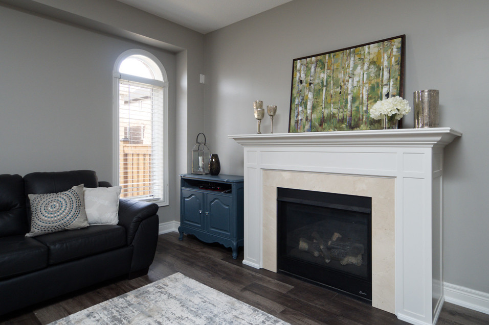 15 Greenwater - Fireplace