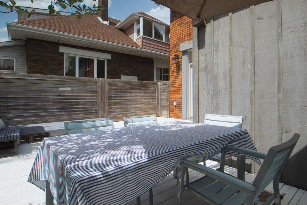 Dining Area on Deck 2 - 11 Park Street - For Sale