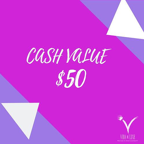 Cash Value