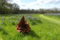 Steel Pine Cone