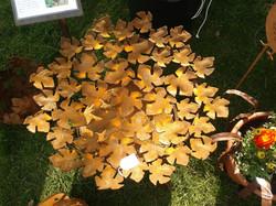 Rusty Leaf Fire Dish