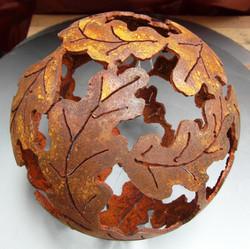 Oak Leaf Sphere