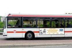 Flanc de bus