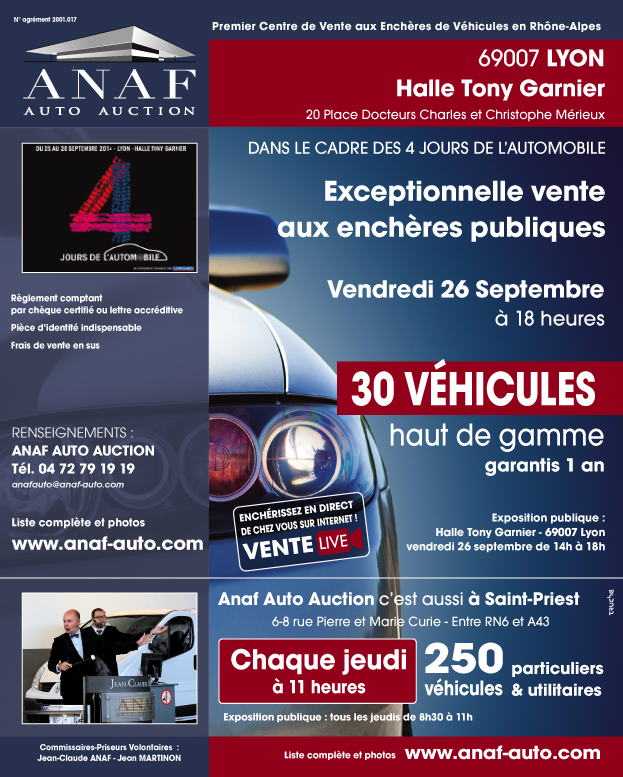 Anaf Auto Auction