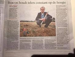 Leidsch Dagblad RobertKraayvager Beacon Fields