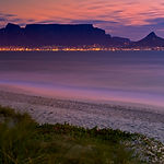 Table Mountain Cape Town Landscape with