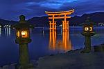 Great floating gate (O-Torii) on Miyajim