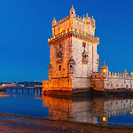 Belem Tower or Tower of St Vincent on th