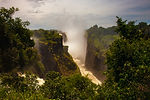 The Drop Of Water On The Victoria Falls