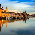 Passau At Sunset, Germany.jpg
