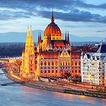 Budapest, Hungary Parliament At Night.jp
