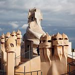 Gaudi sculptures from Barcelona.jpg