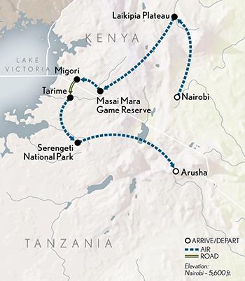 2020-Kenya-Tanzania-Great-Migration-Safa