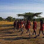 The Maasai Performing A Dance.jpg