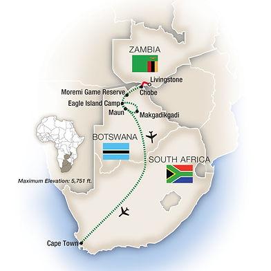 Botswana, South Africa & Zambia by Tauck