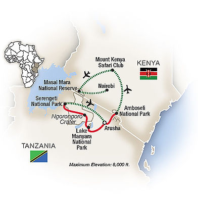 Kenya & Tanzania - A Classic Safari by T