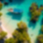 aerial view of the pamunda island, Zanzi