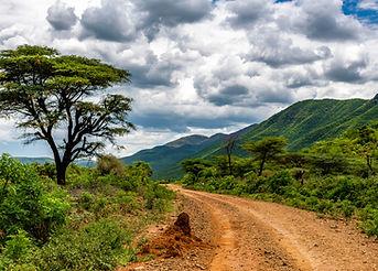 Remote rural area near Siracho Escarpmen
