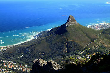 Lions Head and Cape Town, South Africa,