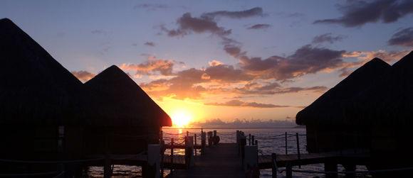 Overwater Bungalows Tahiti InterContinental Resort