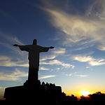 Christ the Redeemer statue in rio de jan