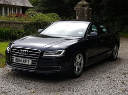 Audi A8 ready for your journey