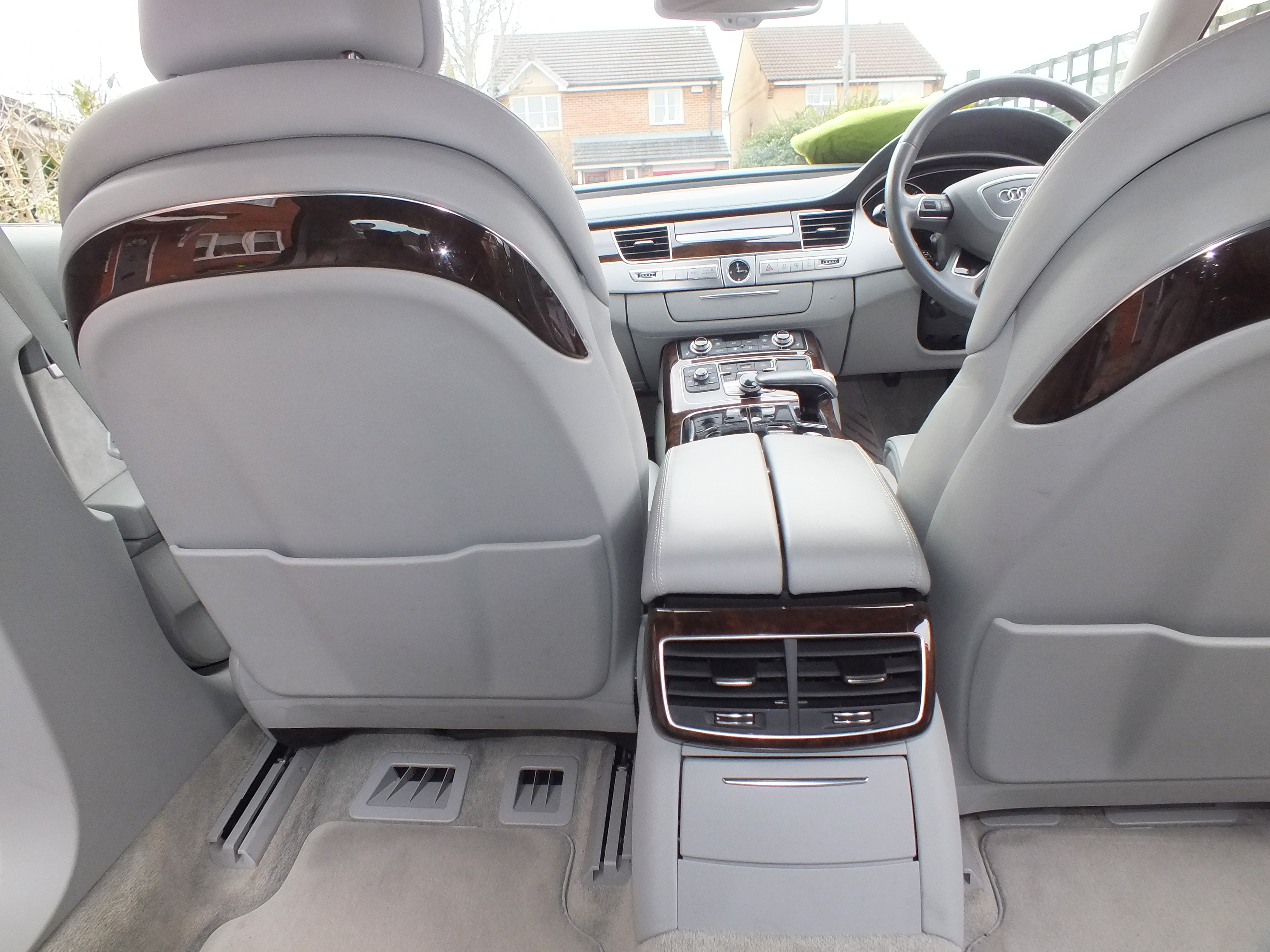 Leather Interiors Audi A8