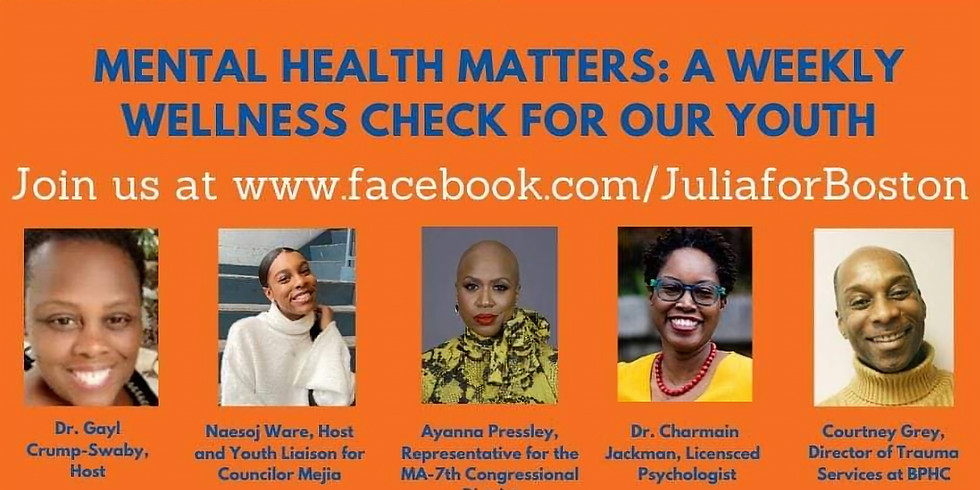 Mental Health Matters: A Weekly Wellness Check for our Youth