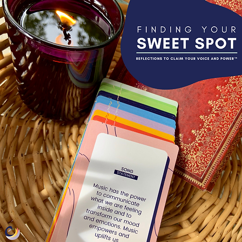 PREORDER Finding Your Sweet Spot: Reflections to Claim Your Voice and Power™