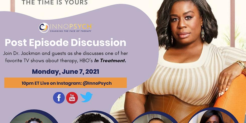 HBO's In Treatment Post-Episode Talk with Psychologists, Dr. Jackman, Dr. Turner, Dr. Prosper + Kwame Dance (2)