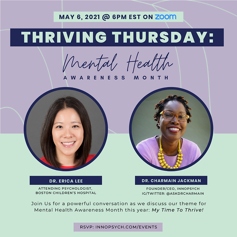 Thriving Thursdays: Mental Health Awareness + AAPI Heritage Month