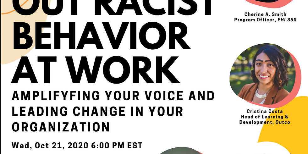 Calling out Racism at Work...Risk or Opportunity?