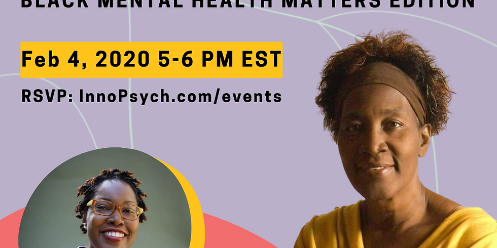 Thriving Thursdays: Black Mental Health Matters Edition