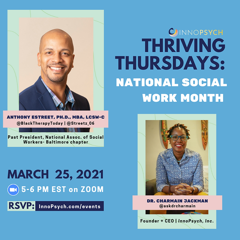 Thriving Thursdays: Social Work Month Edition