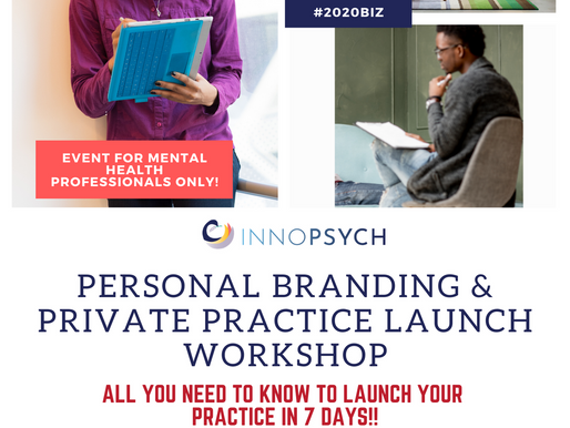 [PAST EVENT] Jan. 25, 2020 | Launching Your Private Practice in 7 Days!